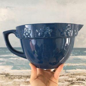 NWOT Stonewall Kitchen Large Blue Mixing Bowl